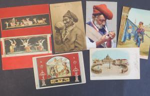 Ansichtskarte Italien schönes Lot von 22 alten Original-Karten