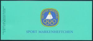 Bund Sport Markenheftchen 1984 Olympische Spiele 1207 postfrisch