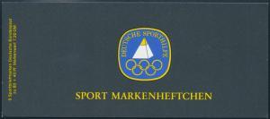 Bund Sport Markenheftchen 1238 100 Jahre Deutscher Keglerbund postfrisch 1985