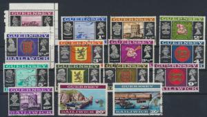 Guernsey 39-53 Ansichten und Wappen gestempelt 1971