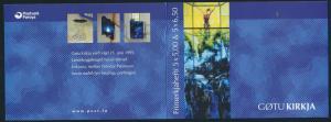 Färöer Markenheftchen 20 ** Kirche von Gota 2002
