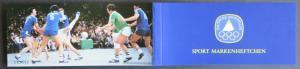 Sport Markenheftchen 1979 Handball postfrisch