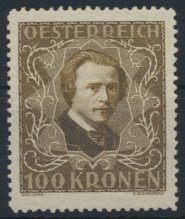 Österreich 424 A postfrisch Komponisten Hugo Wolf Kat.-Wert 24,00