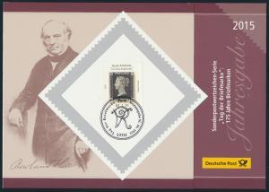 Sonderpostwertzeichen-Serie Tag der Briefmarke 2013-2015