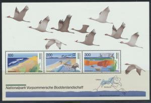 Deutschland Block 36 Deutsche National- und Naturparks 1196