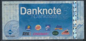 Banknote Gutschein Danknote 0,98 DM 0,50 € Aral, Burger King, Klier, Cinemaxx