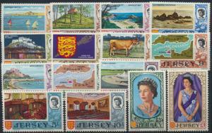 Jersey 7-21 postfrisch Freimarken Landestypische Motive