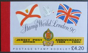 Jersey MH  0-32 postfrisch - Stamp World London 1990