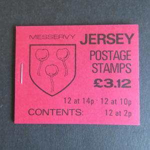 Jersey MH 0-27 - 0-28 postfrisch -Wappen 1986/1987
