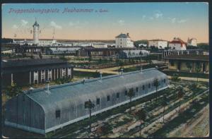 Ansichtskarte Nauhammer nach Restauration Schonbrunn 1913 Truppenübungsplatz