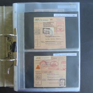 Spezial Sammlung Bund Heinemann Briefe bzw. Paketkarten Fundus aus Nachlass v.