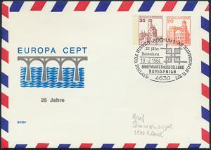 Bund Privatganzsache SST Bochum 25 Jahre CEPT Briefmarkenausstellung NUMISPHILA