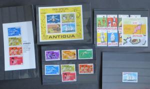 Antigua 417-423+425+431+452+Block 24-25+27 Olympia 200 Jahre USA