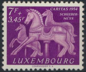 Luxemburg 530 Brauchtum postfrisch 1954