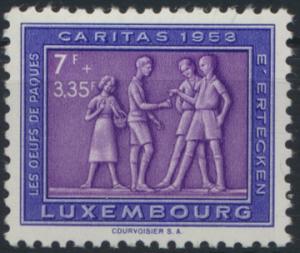 Luxemburg 522 Brauchtum postfrisch 1953