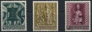 Liechtenstein Weihnachten 386-388 tadellos postfrisch