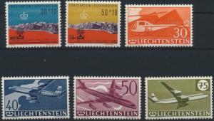 Liechtenstein 389-397+399-401 Jahrgang 1960 komplett postfrisch
