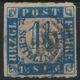 Altdeutschland Schleswig Holstein 7 Nummernstempel 23 Haldersleben