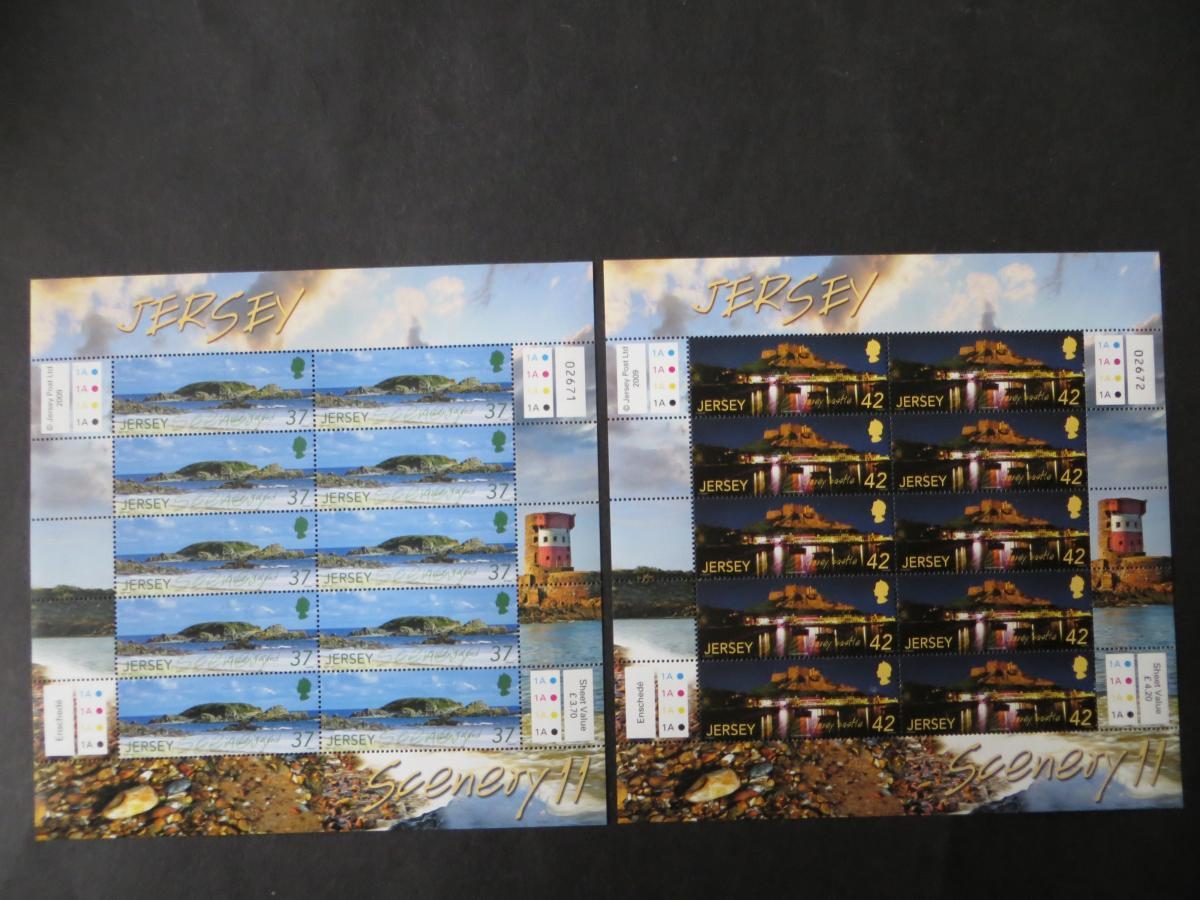 Großbritannien Jersey Kleinbogensatz 1435-40 Landschaften SEAPC Luxus postfrisch 0