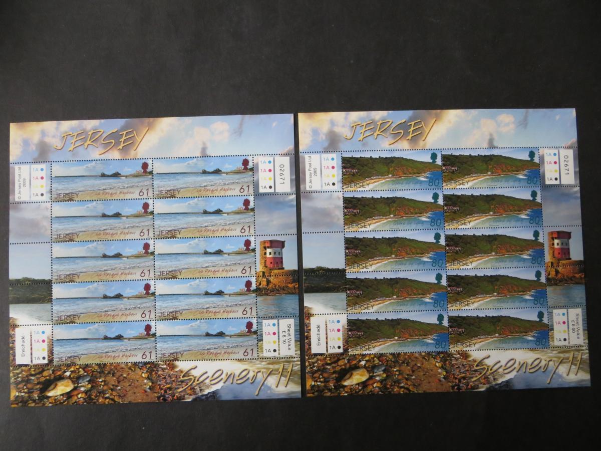 Großbritannien Jersey Kleinbogensatz 1435-40 Landschaften SEAPC Luxus postfrisch 2