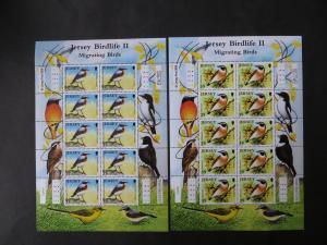 Großbritannien Jersey Kleinbogensatz 1377-82 Tiere Zugvögel Luxus postfrisch MNH