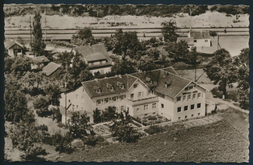 Foto Ansichtskarte Uffenheim Haus der guten Übernachtung Bahnhof Bahnhofshotel 0