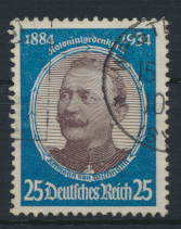 Deutsches Reich 543 Höchstwert Kolonialforscher gestempelt Kat.-Wert 26,00 0