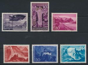 Liechtenstein 381-385 Luxus postfrisch MNH Kat.-Wert 4,00