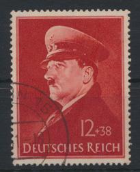 Deutsches Reich 772 x Hitlers Geburtstag sauber gestempelt Kat-Wert 4,00