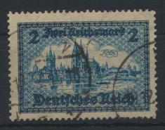 Deutsches Reich 440 2 Mark Bauwerke sauber gestempelt Kat.-Wert 19,00