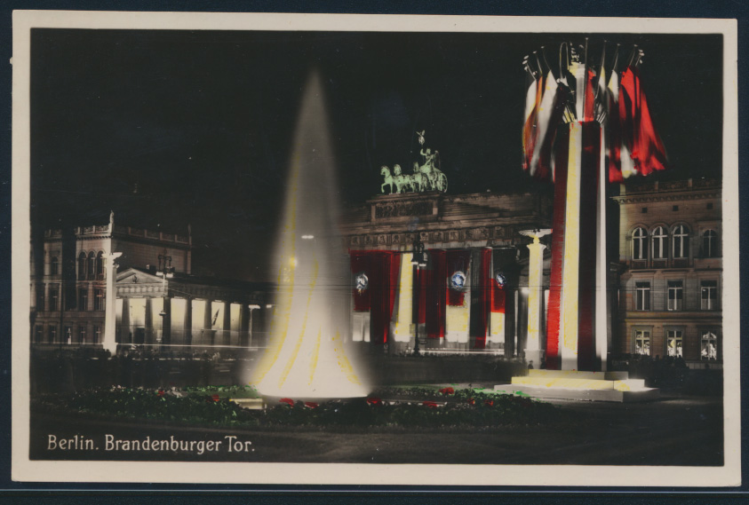 Ansichtskarte Berlin Brandenburger Tor ungelaufen 0