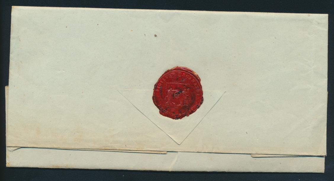 Altdeutschland Scheswig Brief komplett mit R 2 Lauenburg nach Pelplin Pommern  1