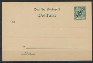Deutsche Kolonien Samoa Ganzsache P 1 I ohne WZ ungebraucht Kat.-Wert 45,00