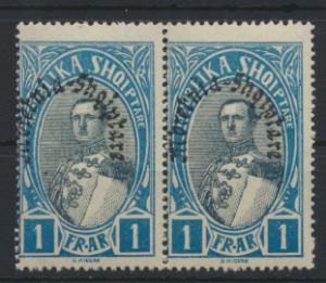 Albanien 195 Paar Verfassung Luxus Postfrisch Albania MNH Kat.-Wert 8,00