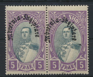 Albanien 198 im Paar Luxus postfrisch MNH 1928 Kat.-Wert 30,00 € 0