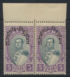 Albanien 198 im Paar Oberrand Luxus postfrisch MNH 1928 Kat.-Wert 30,00 €
