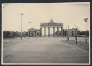 Altes Foto Berlin Brandenburger Tor 10,1 x 7,1 cm