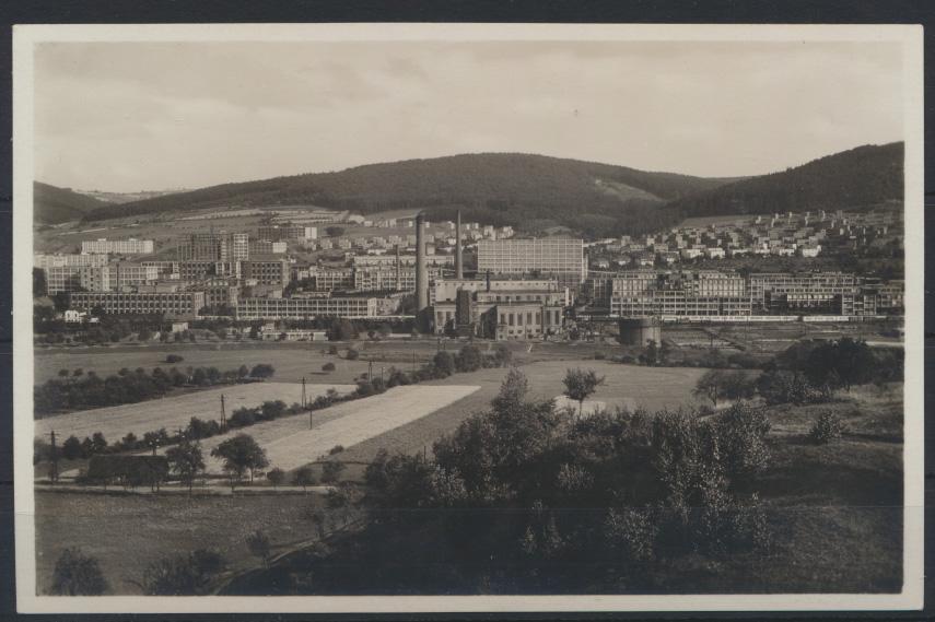 Ansichtskarte Zlin Zlínský kraj in Mähren Tschechien 0