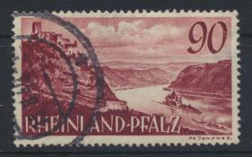 Besetzung Franz. Zone Rheinland Pfalz 41 gestempelt Kat.-Wert 20,00