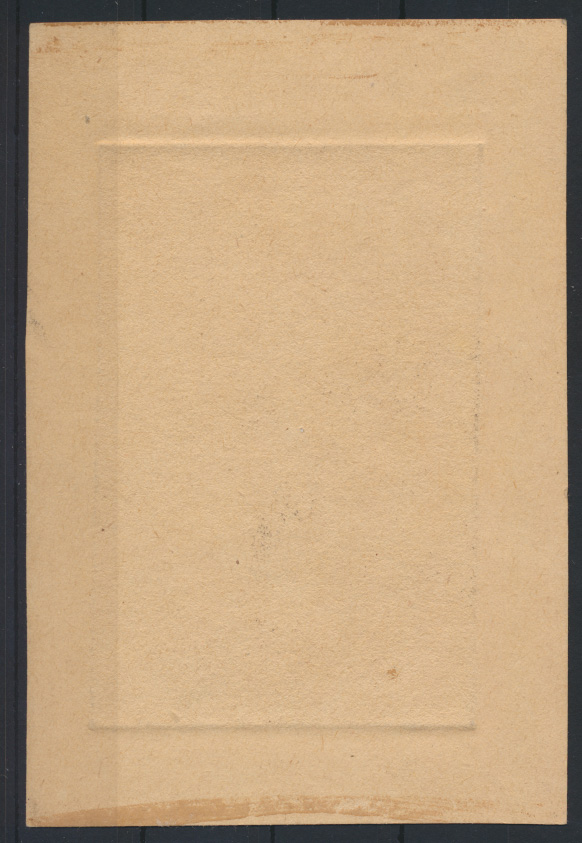Bild Malerei Autogramm Künstler Kupferstich Autograph Karl Senger  1