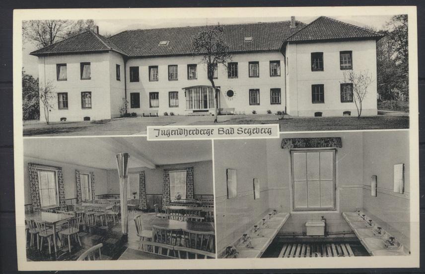 Ansichtskarte Foto Jugendherberge Bad Segeberg  0