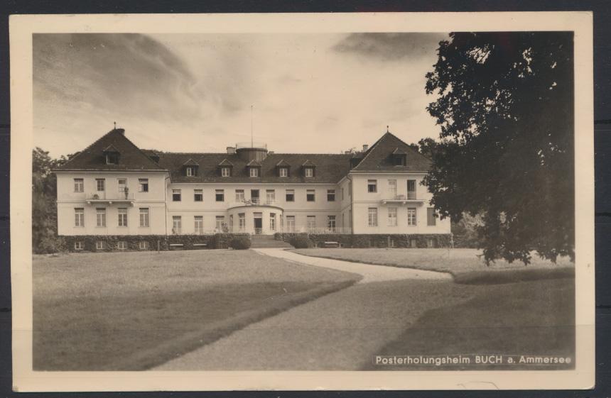 Ansichtskarte Foto Posterholungsheim Buch Ammersee 0