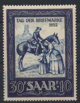 Saarland 316 Motivbriefmarken Ausstellung Luxus postfrisch MNH Kat.-Wert 15,00 0