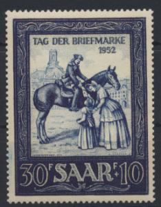 Saarland 316 Motivbriefmarken Ausstellung Luxus postfrisch MNH Kat.-Wert 15,00
