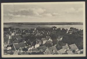 Ansichtskarte Kiel Bad Tönning Bahnpost Husum Garding Zug 1185 n. Rheinsberg