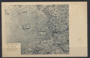Ansichtskarte Husum Nordsee Landkarte Kartographie