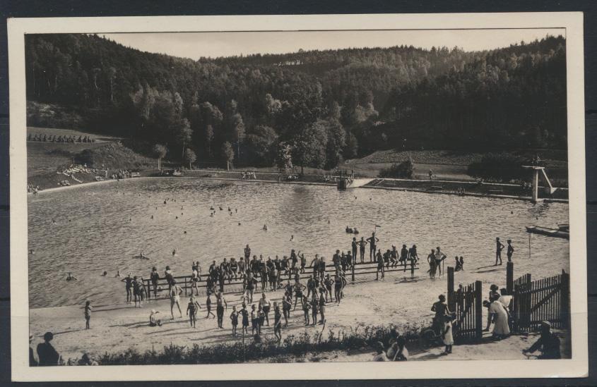 Ansichtskarte Aicha Sudetenland Český Dub Okres Liberec Tschechien n. Vegesack  0