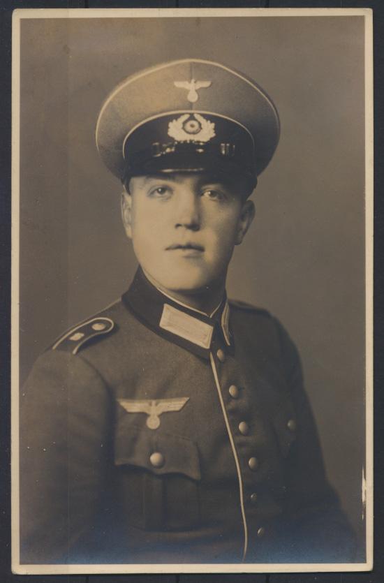 Militaria Foto Ansichtskarte Wilhelm Kuhlich gefallen Kämpfe um Danzig März 1945 1
