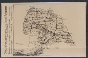 Ansichtskarte Foto Fehmarn Wanderkarte Landkarte Kartographie