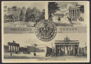 Ansichtskarte Foto 700 Jahre Berlin Brandenburger  2 WK Propaganda NS-Zeit